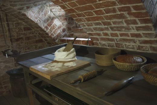 Подвал-пекарня: мемориальная часть экспозиции