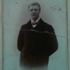 Подлинная фотография Ф.И. Шаляпина с автографом «Екатерине Георгиевне Ковельковой»