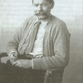 Фотография А.М. Горького 1928 года