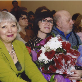Ольга Левадная, Наиля Ахунова и Борис Вайнер
