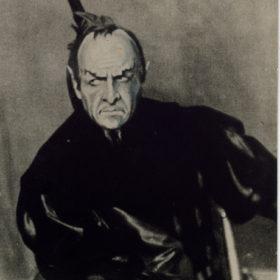 Ф.И.Шаляпин в роли Мефистофеля в опере «Фауст» Ш.Гуно.