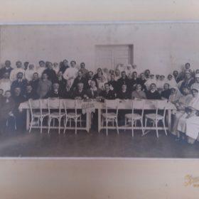 Фото, сделанное в лазарете, где выступал Ф.И. Шаляпин в годы I Мировой войны