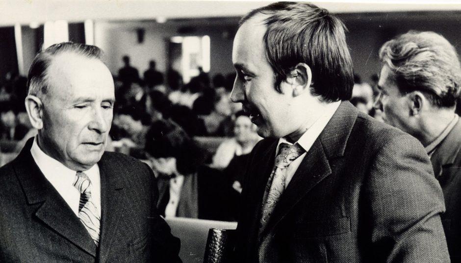 Татарские писатели Х. Туфан и Р.Маран. 1930 г.