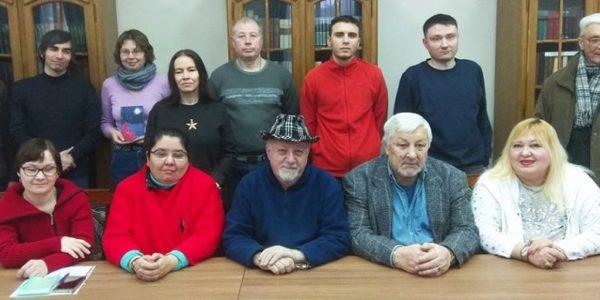 Заседание ЛитО им. М. Зарецкого 20 января
