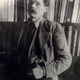 Фото. А.М.Горький. Италия.1913