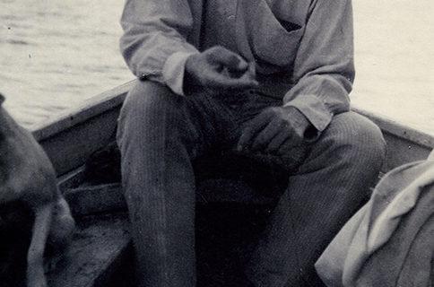 Фото А.М.Горький. Италия. 1910