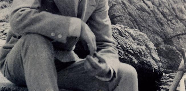 Фото А.М.Горький.Италия. Капри. 1913