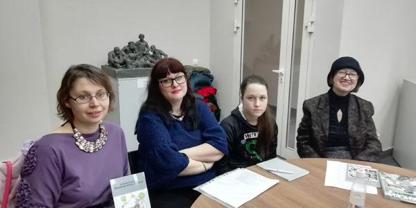 Заседание литературного объединения им. И. Зарецкого