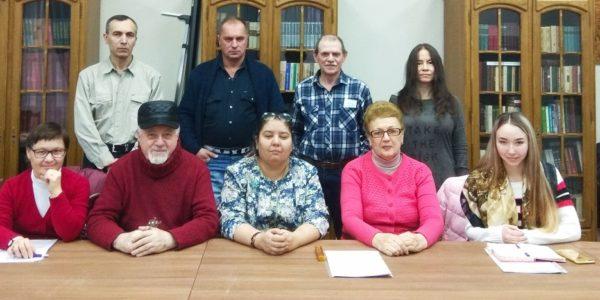 Встреча с журналистом, писателем Розой Ахтямовой  (Мурманск) в рамках очередного заседания ЛитО им.М.Зарецкого