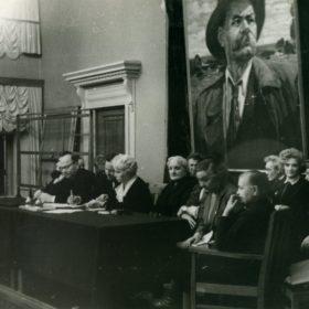 Фото. XVII  научная Горьковская конференция. Казань. 24.01.1968 г.