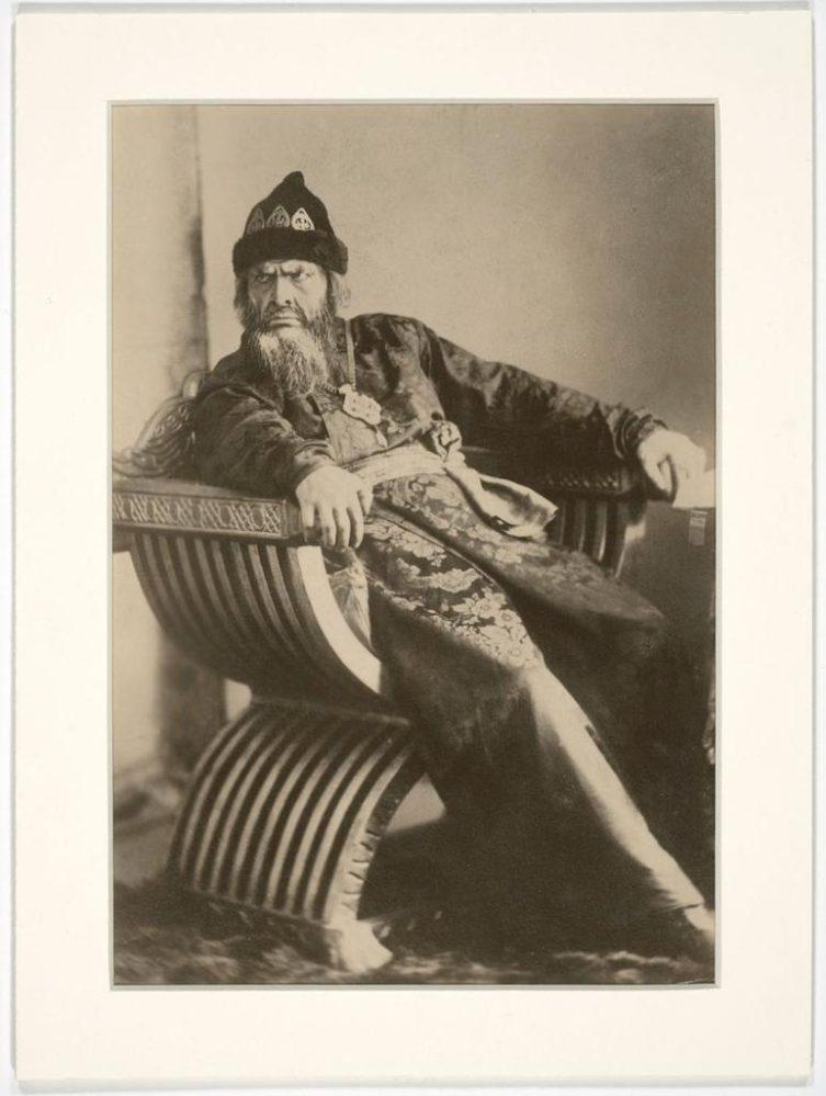 Ф.И. Шаляпин в образе Ивана Грозного. Москва, 1911