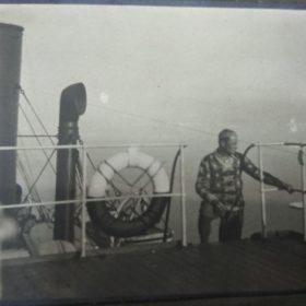 «Любовь к Северу». Часть 1 (Фото. Максим Пешков на пароходе «Глеб Бокий».1931)