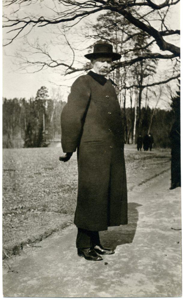 Фото. А.М.Горький. Финляндия. 1914