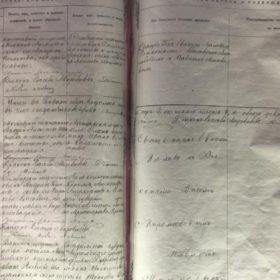 Метрическая книга Богоявленской церкви г.Казани за 1873 г. (муляж). 1987