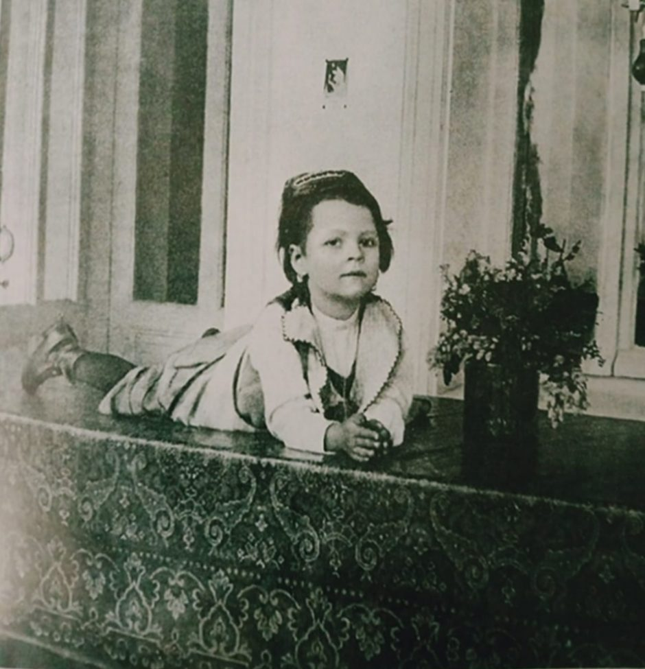 Фото. Катя Пешкова. Ялта. 1905-1906 (?)