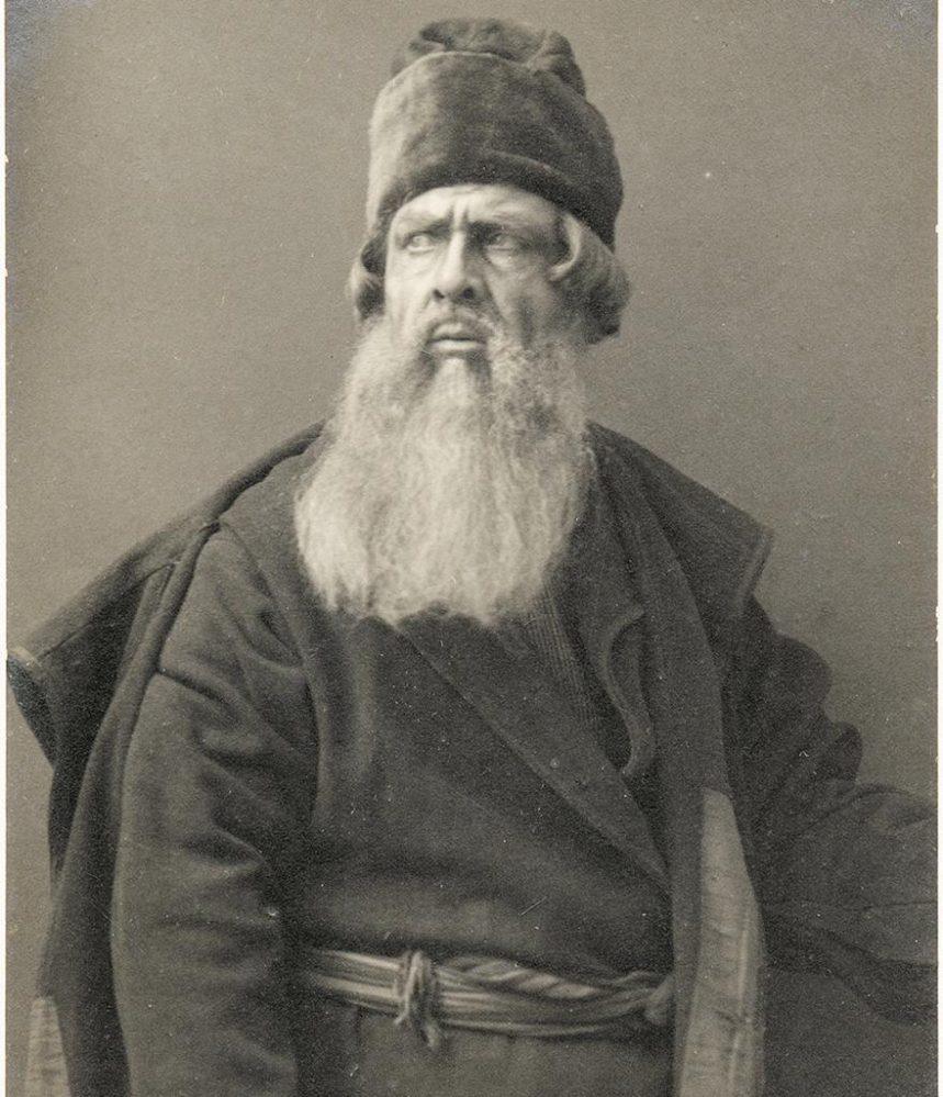 Шаляпин в роли «Ивана Сусанина» в Казани.