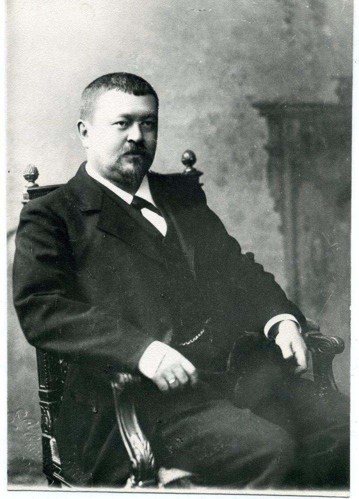 Фото. Морозов Савва Тимофеевич. Начало 1900-х