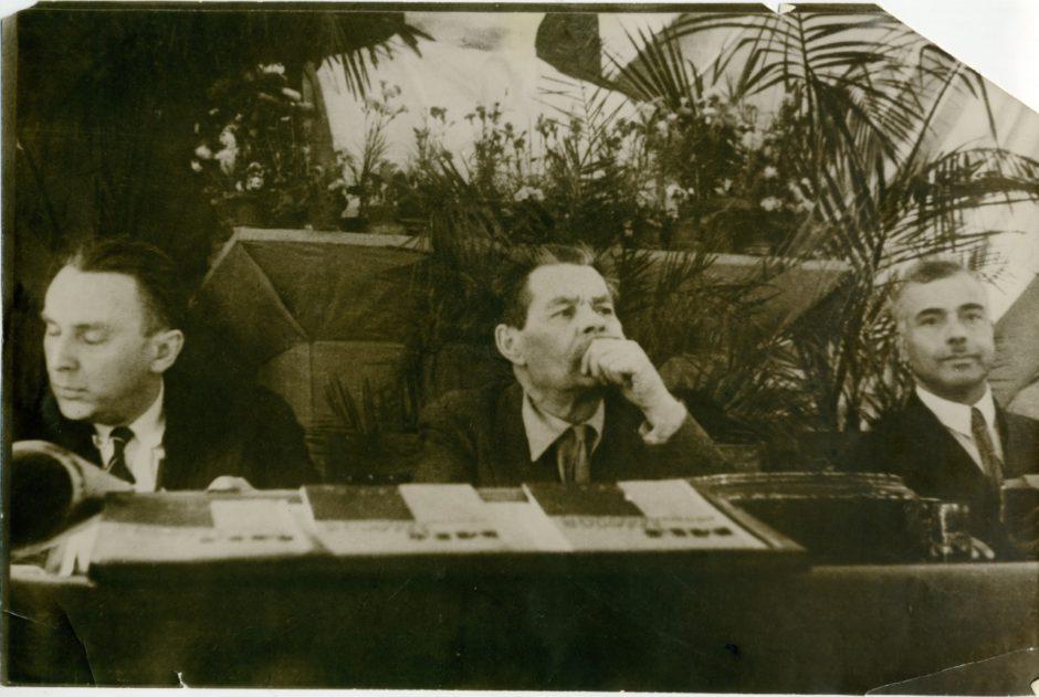 Фото. А.М.Горький в президиуме I Всесоюзного съезда советских писателей. Москвв.1934