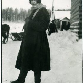 Фото. А.М.Горький в Финляндии.  Дер. Кирьявола.  1914
