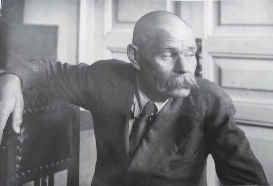 Фото. А.М.Горький в редакции газеты «Красная Татария». Казань. 1928