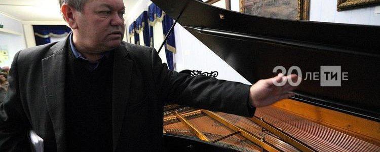 Реставрация кабинетного рояля Ф.И.Шаляпина.