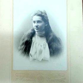 Фото. Екатерина Павловна Пешкова. Нижний Новгород. 1901-1902 гг.