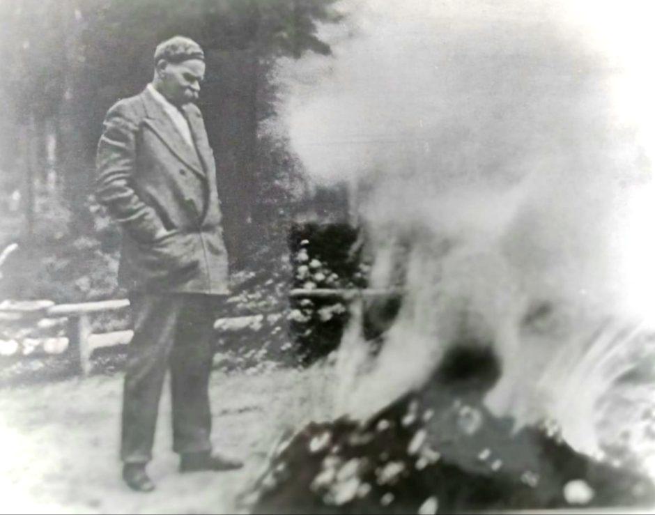 Фото. А.М.Горький. Крым, Тессели. 1935
