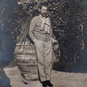 Фото. М.Горький. г. Сорренто, Италия. 1927