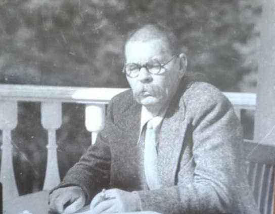 Фото. А.М.Горький в Горках. 1930-е