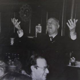 Фото. И.С.Козловский в доме А.М.Горького. Москва. 1961