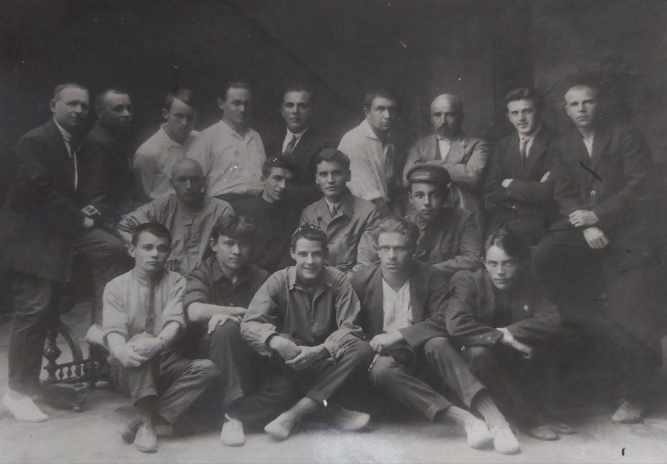 Фото. Татарские советские писатели. Казань. 1929.