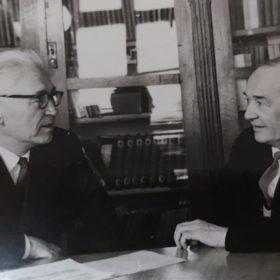 Фото. Хамид Ярми и Наки Исанбет. Казань. 1967