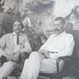 А.М. Горький и И.И. Бродский. Капри.1910-1911