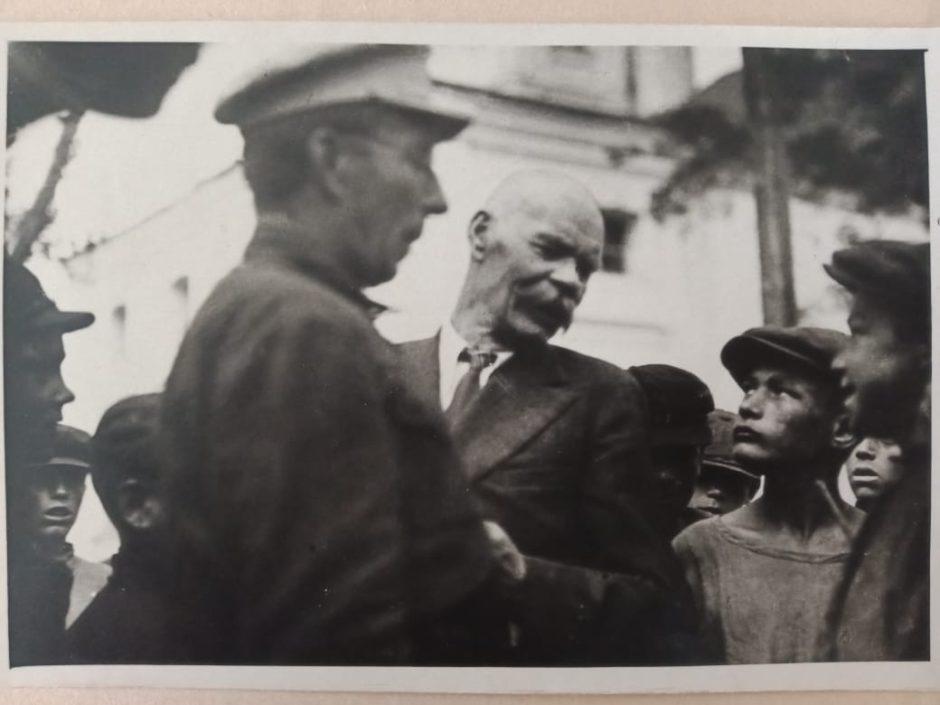 Фото. А.М.Горький. Куряж, Харьковская область. 1928