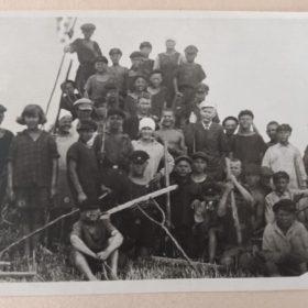 Фото. А.М.Горький. Куряж, Харьковская область. 1928 г.