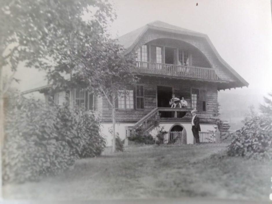 Фото. Вид на виллу «Саммер Брук», поместье семьи Мартин, где М.Горький с М.Ф.Андреевой проживали летом 1906 г. Элизабеттаун, США.