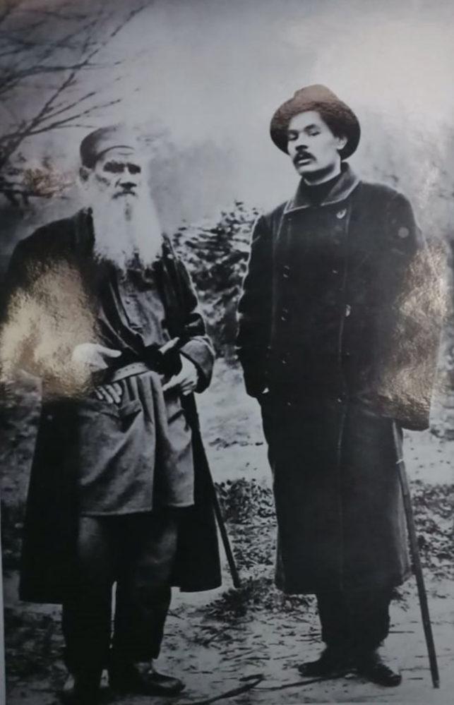 «Л.Н.Толстой и А.М.Горький»
