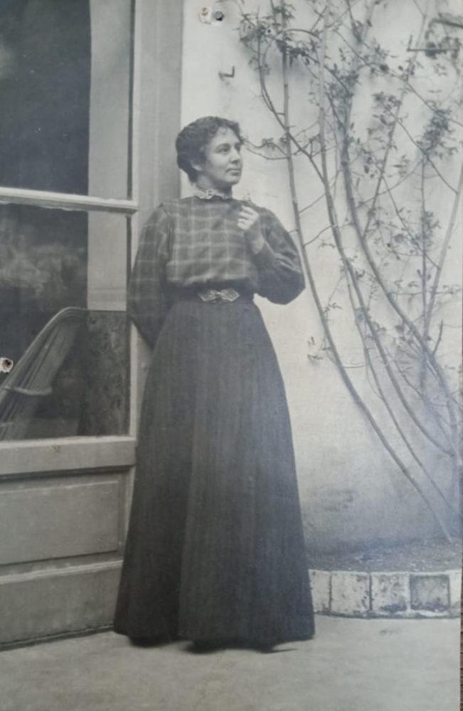 Мария Федоровна Андреева, урожденная Юрковская. 1900-е