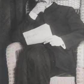 А.М. Горький. Куоккала.1905