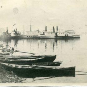 Фото. Казанские пристани. Конец XIX-начало ХХ вв.