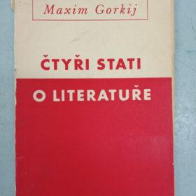 «Čtyřy stati o literature» (Четыре статьи о литературе) М. Горький. Прага, 1951 г.