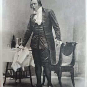 Ф.И.Шаляпин в опере «Моцарт и Сальери».