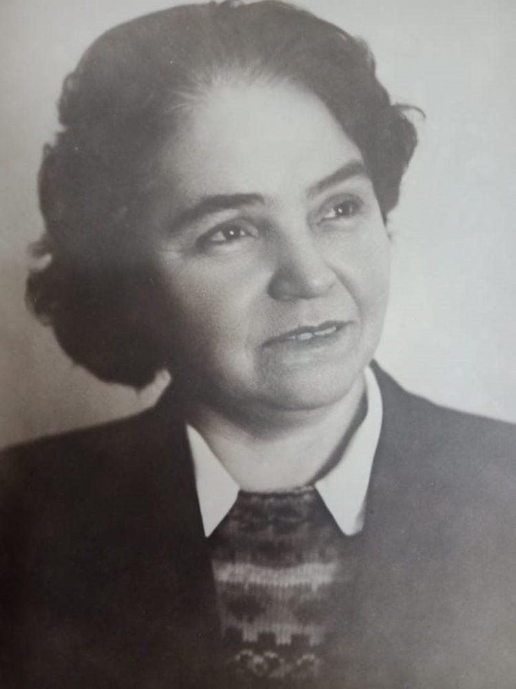 Елизарова Мария Николаевна. Казань. 1940-е