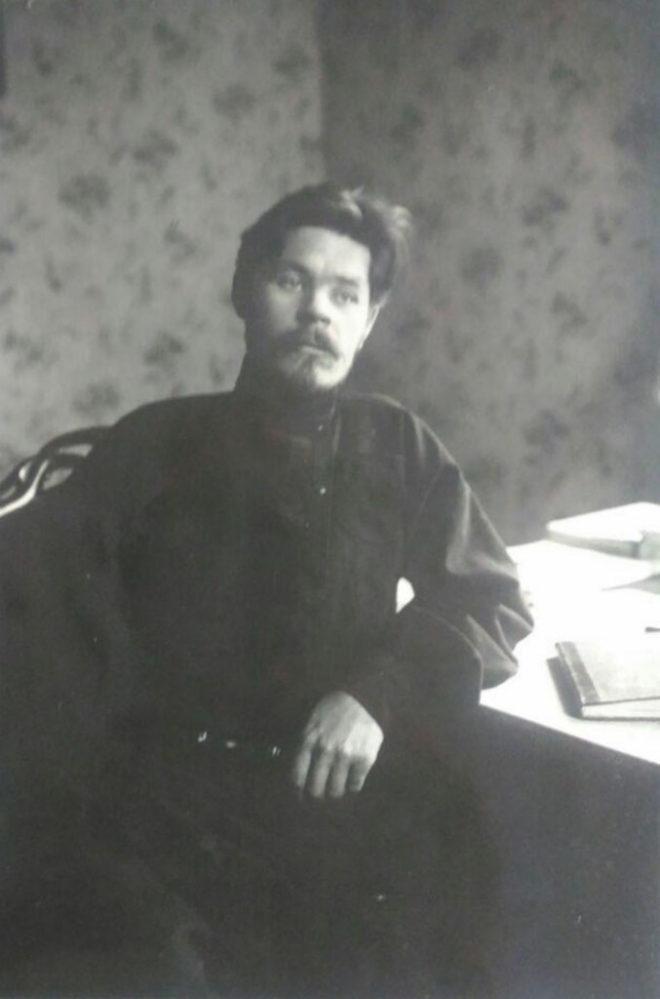 А.М.Горький. Рига. 1905 г.