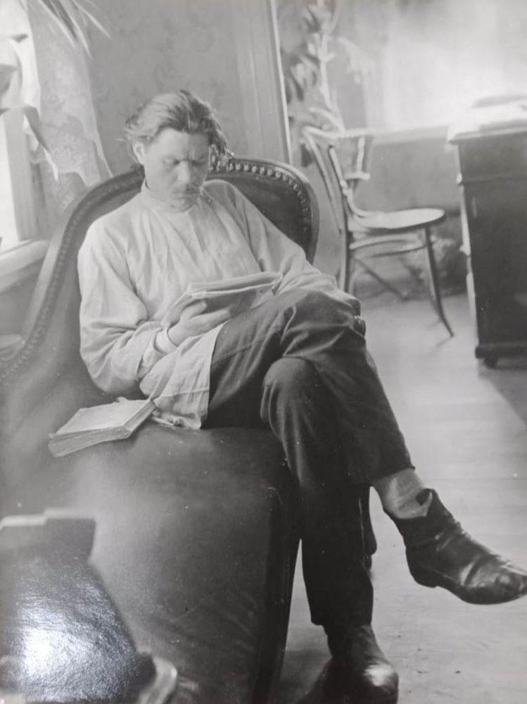 Фото. А.М.Горький. Нижний Новгород. 1902
