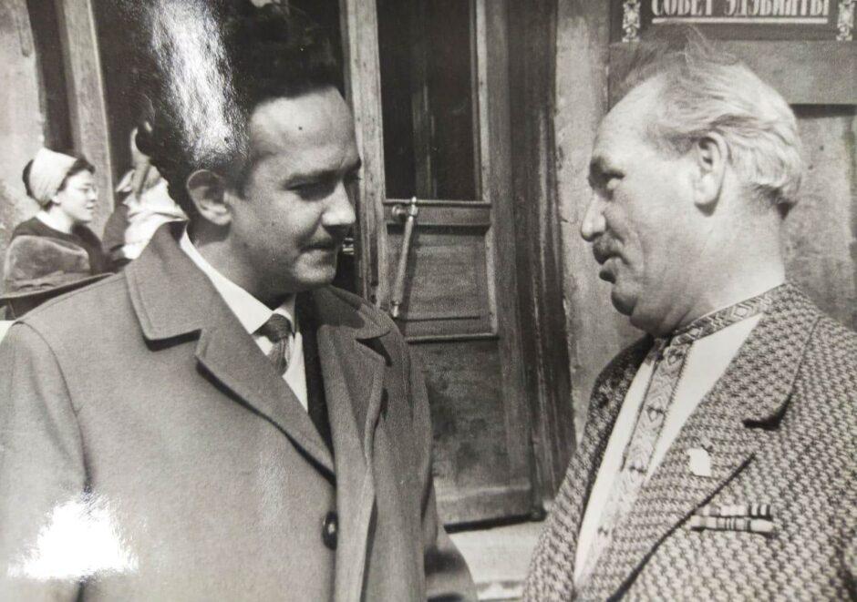 Фото. Р. Кутуй и М.Садри. Казань.1960-е.