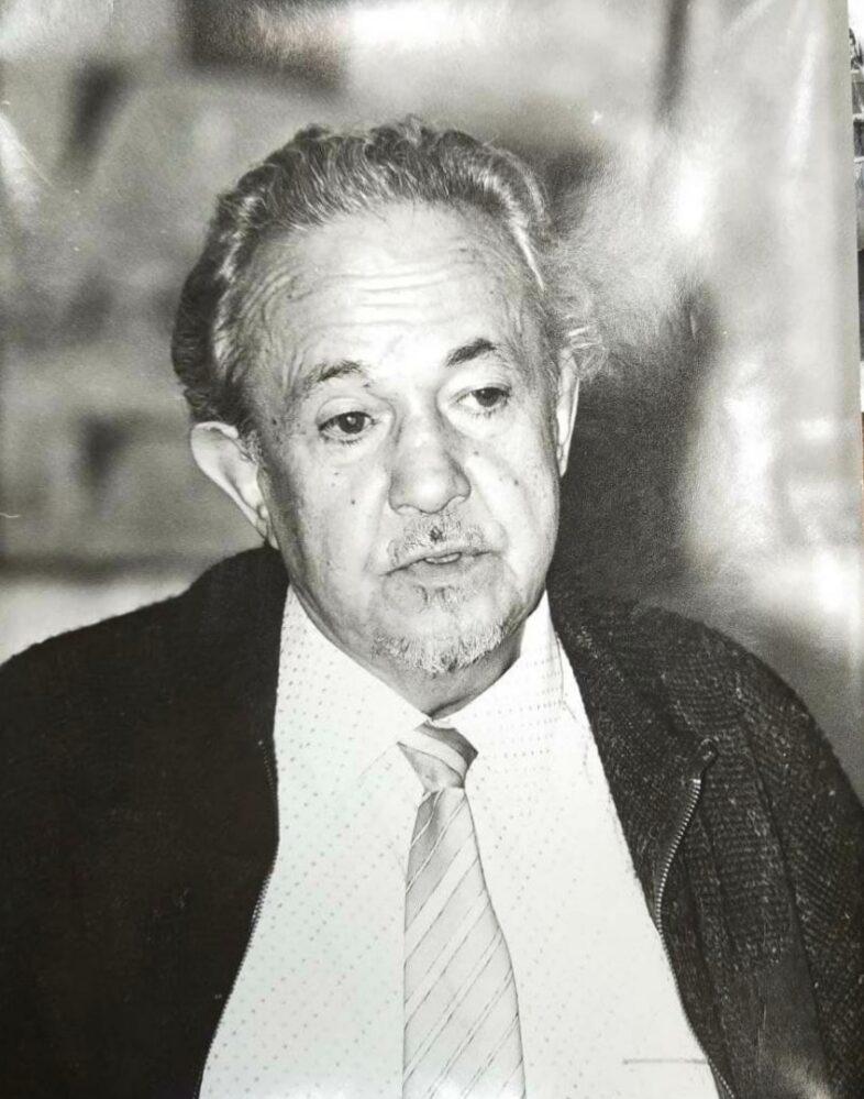 Фото. Р.А.Кутуй на праздновании 60-летия. 3.11.1996 г.