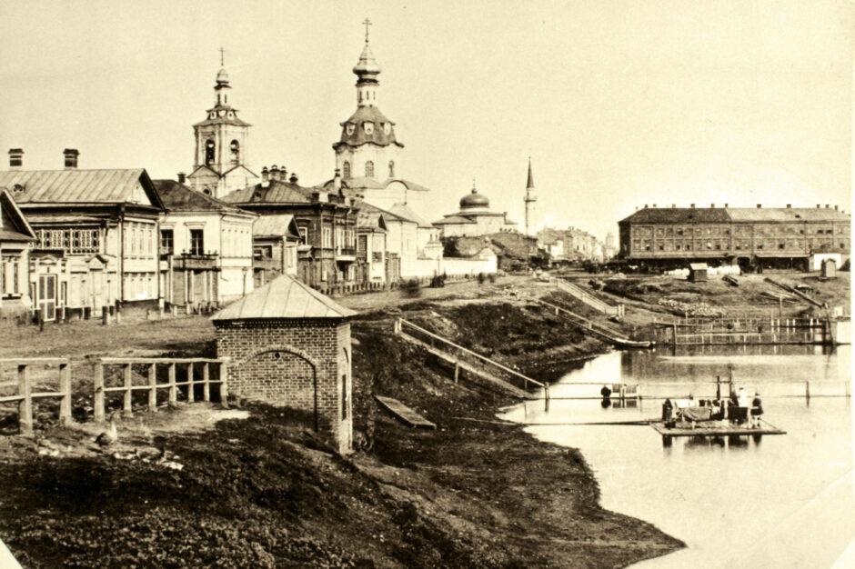 Фото.Озеро Кабан. Казань. Конец Х1Х в.