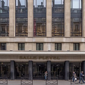 Фото. Зал Плейель. Париж. н.ХХI в.